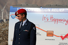 AFROTC at I-10 Overpasses Ribbon Cutting (3319)