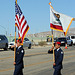 AFROTC Color Guard at I-10 Overpasses Ribbon Cutting (3376)
