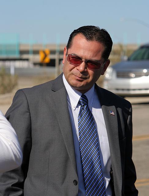 Assemblymember Pérez at I-10 Overpasses Ribbon Cutting (3371)