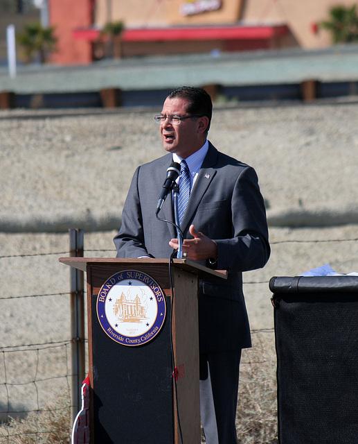Assemblymember Pérez at I-10 Overpasses Ribbon Cutting (3421)