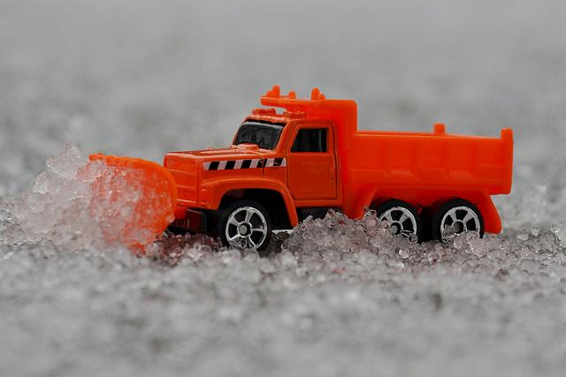 Maisto Snow Plow