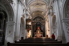 Kirche - Kloster Marienberg - Burgeis