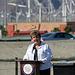 Mayor Parks at I-10 Overpasses Ribbon Cutting (3392)
