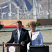 Mayors Pougnet & Parks at I-10 Overpasses Ribbon Cutting (3383)