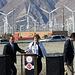 Palm Springs Mayor Pougnet & Mayor Parks at I-10 Overpasses Ribbon Cutting (3382)
