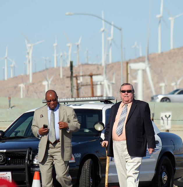 Karl Baker at I-10 Overpasses Ribbon Cutting (3362)