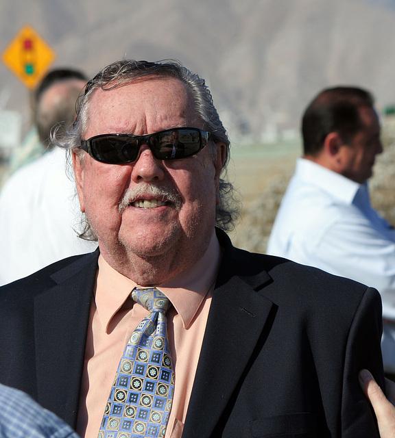 Karl Baker at I-10 Overpasses Ribbon Cutting (3369)