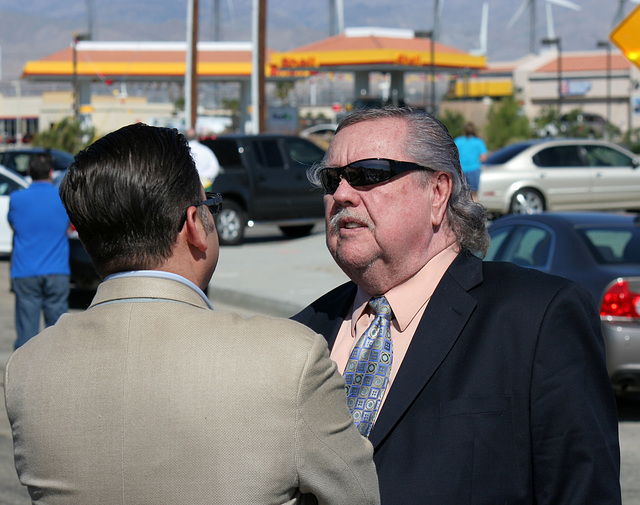 Karl Baker at I-10 Overpasses Ribbon Cutting (3444)