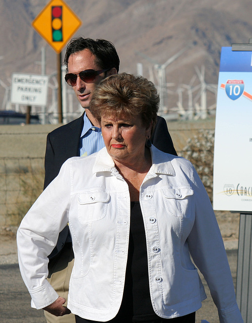 Tom Kirk & Mayor Parks at I-10 Overpasses Ribbon Cutting (3305)