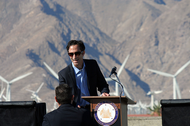 Tom Kirk at I-10 Overpasses Ribbon Cutting (3350)