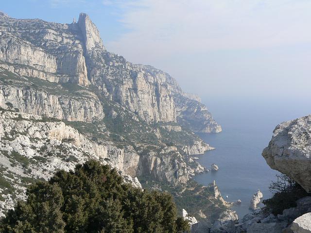au sud de Marseille