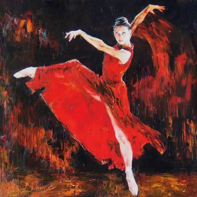 ballet rouge.