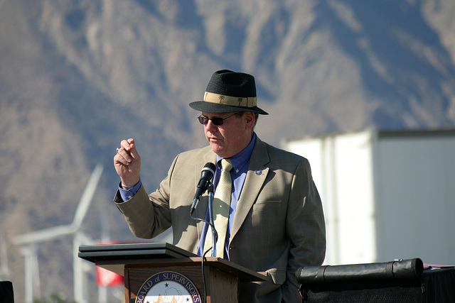 Supervisor Benoit at I-10 Overpasses Ribbon Cutting (3407)