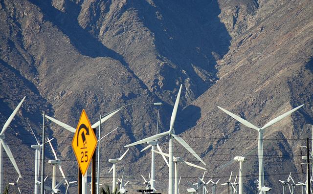 Windmills & Mt San Jacinto (3303)