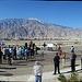 Mt San Jacinto at I-10 Overpasses Ribbon Cutting Panorama
