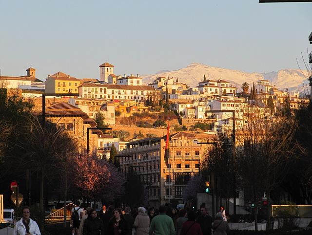 Puesta de Sol en Granada