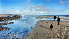 Spaziergang im Meer