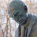 portreto de minlaborista skulpturo