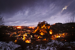 Bergfeuer in Pottenstein