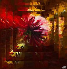 Faire hurler de couleur ..tous ces espaces nus.....Et de doute planté  ...........comme un poignard au coeur .