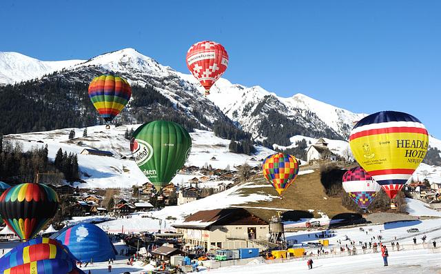 Festival international de ballons...