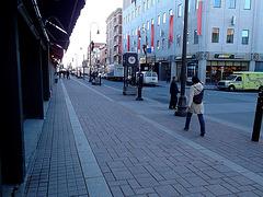 La Dame Subway en talons hauts / Subway Lady in high heels -1er décembre 2011 /  Photo originale