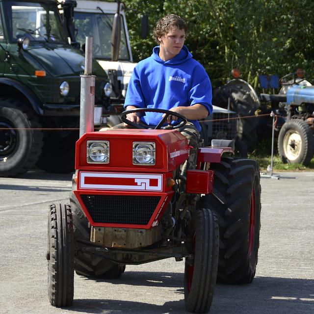 Oldtimerfestival Ravels 2013 – Napolione tractor