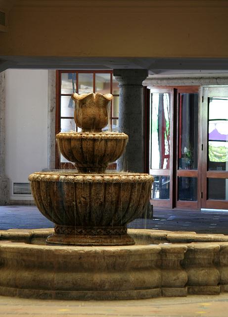 Palm Springs Interior Fountain (3454)