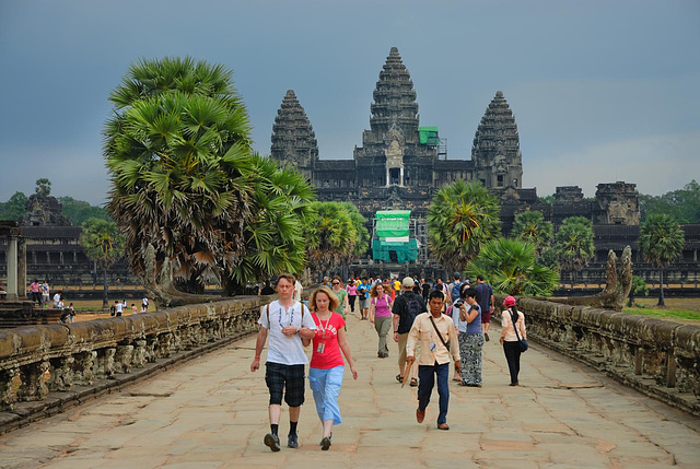 Causeway to the Angkor Wat