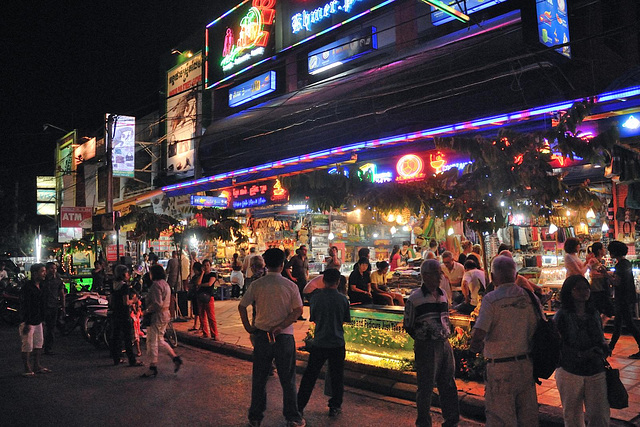 Nightlife in the Old Market