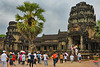 Entrance to the temple mountain Angkor Wat