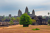 The temple mountain of Angkor Wat