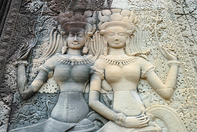 The Nymphs and Goddesses of Angkor Wat