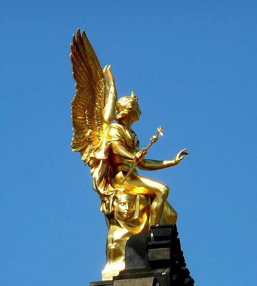 Engel mit Flügeln in Dresden