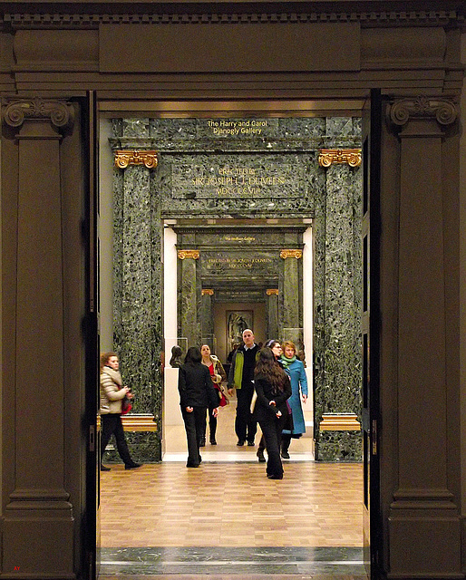 Through the Galleries