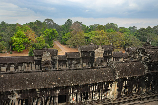 The second gallery of Angkor Wat