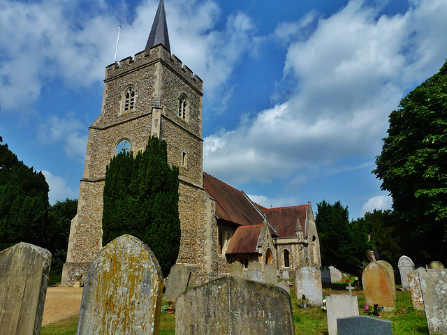 hertingfordbury church, herts.