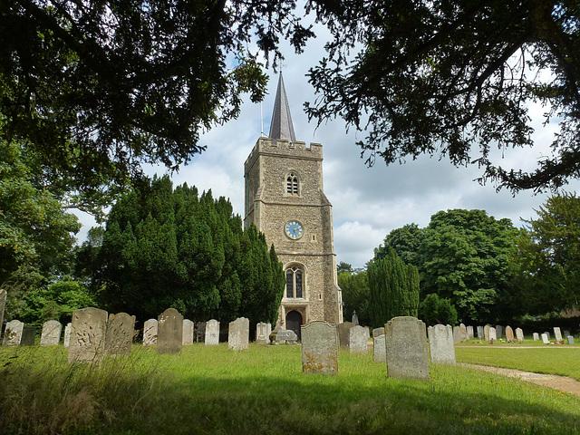 hertingfordbury church, herts.