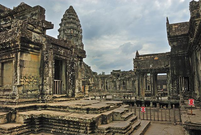 The Bakan in Angkor Wat