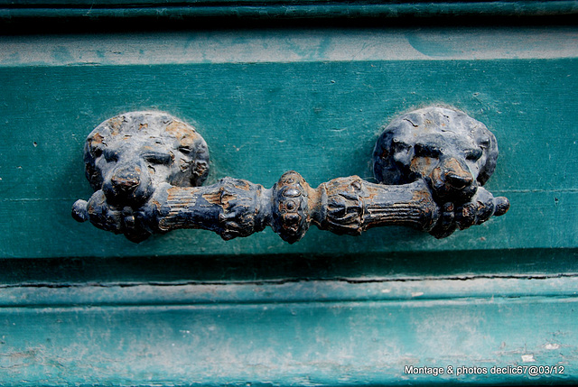 Poignée de portes Normandes