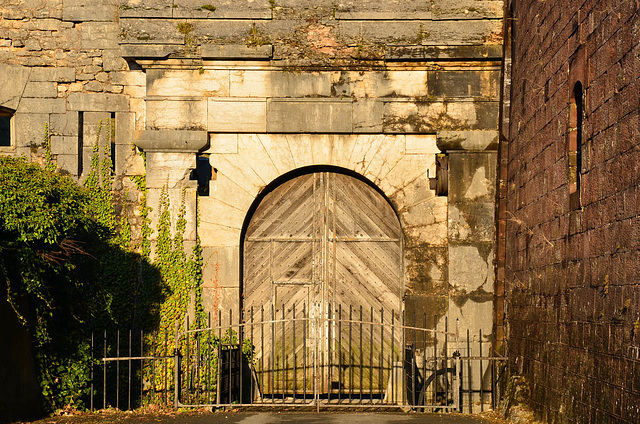 Entrée de la citadelle à Belfort