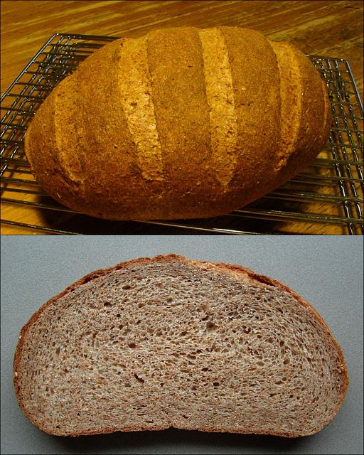 WGB Challenge #31: Whole Wheat Mash Bread