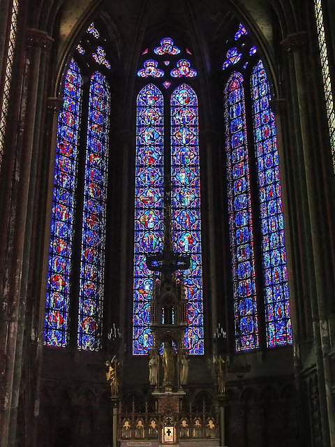 PICT16524bc Amiens Cathedral Notre Dame Fourth Apse Chapel of the Virgin