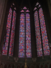 PICT16525ac Amiens Cathedral Notre Dame Apse Chapel of the Sacred Heart