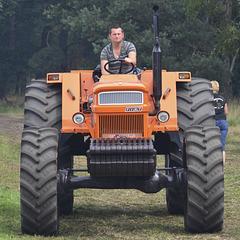 Oldtimerfestival Ravels 2013 – FIAT 1300DT Super tractor