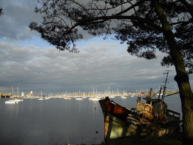 cimetière de bateaux,