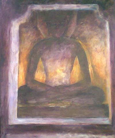 Meditating Buddha 4