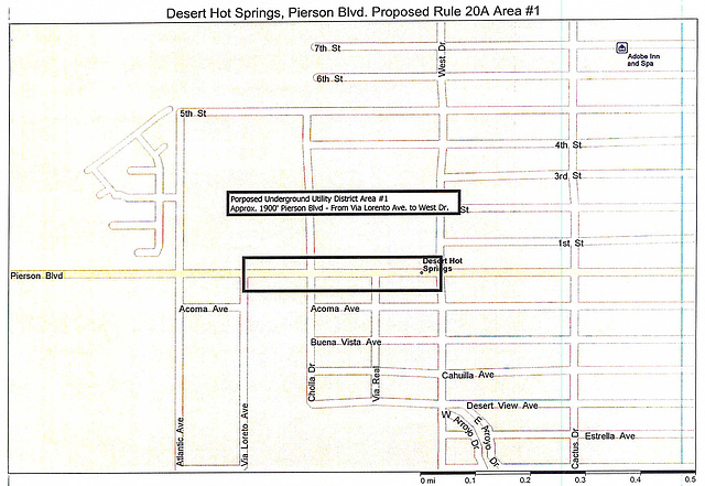 DHS Underground Utility District - Rule 20A Area 1