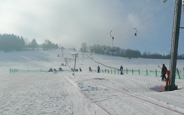 Skilift in Geising - Osterzgebirge