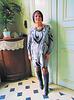 Dame Annick en bottes de cuir à talons hauts / Lady Annick's leather high-heeled boots